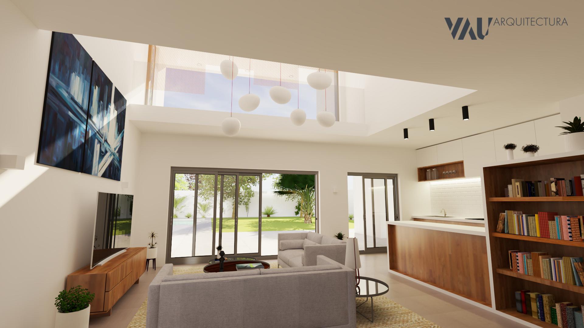 Diseño interior Casa unifamiliar.
